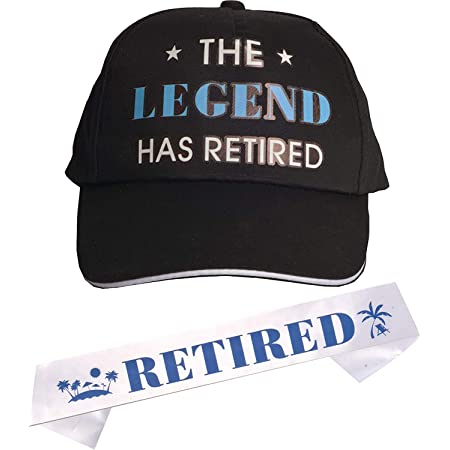 Retired Sash and Hat