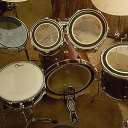 Amazon Com Aquarian Drumheads Super Kick Ii Drumhead Pack Skii22 Musical Instruments