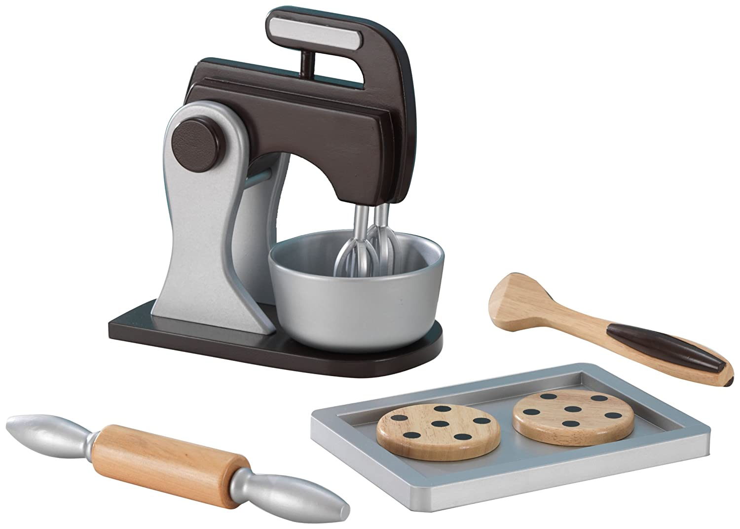 KidKraft Espresso Baking Set: Kidkraft: Amazon.co.uk: Toys & Games