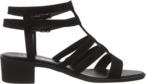 New Look Snowz-IC SDT 2pt Pltf 115:1:s206 39 EU Escarpins Bout Ouvert Femme Black 1 Noir