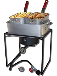 Amazon Com Fryers Outdoor Fryers Amp Smokers Patio Lawn