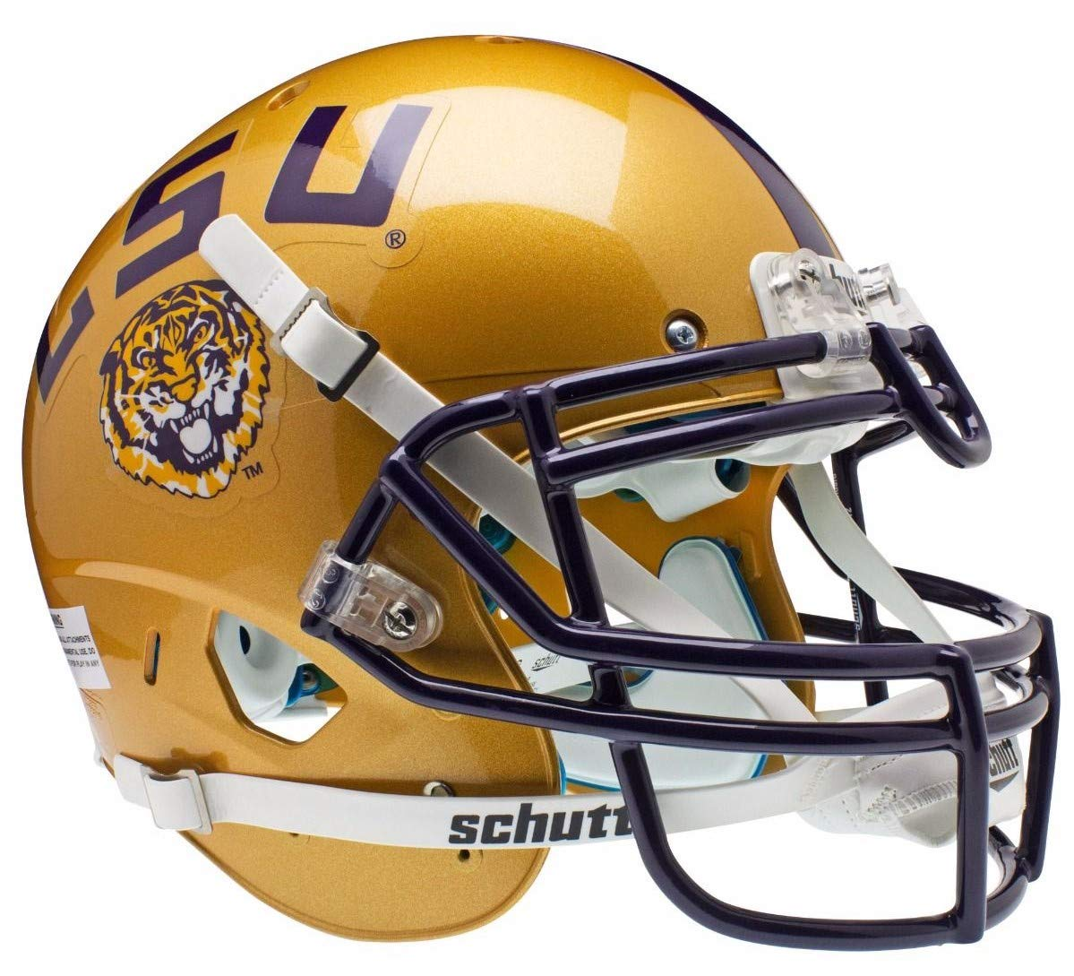 Schutt NCAA LSU Tigers Collectible Replica Helmet