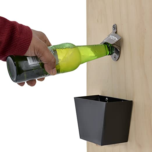 Wall Mounted Beer Thirty Bottle Opener