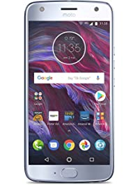 Moto X (4th Generation) - with Amazon Alexa hands-free – 32 GB - Unlocked – Sterling Blue - Prime Exclusive