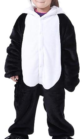 iLoveSIA Childrens Pajamas Animal Onesie Panda size M Fit Height 110-120cm Age From 4