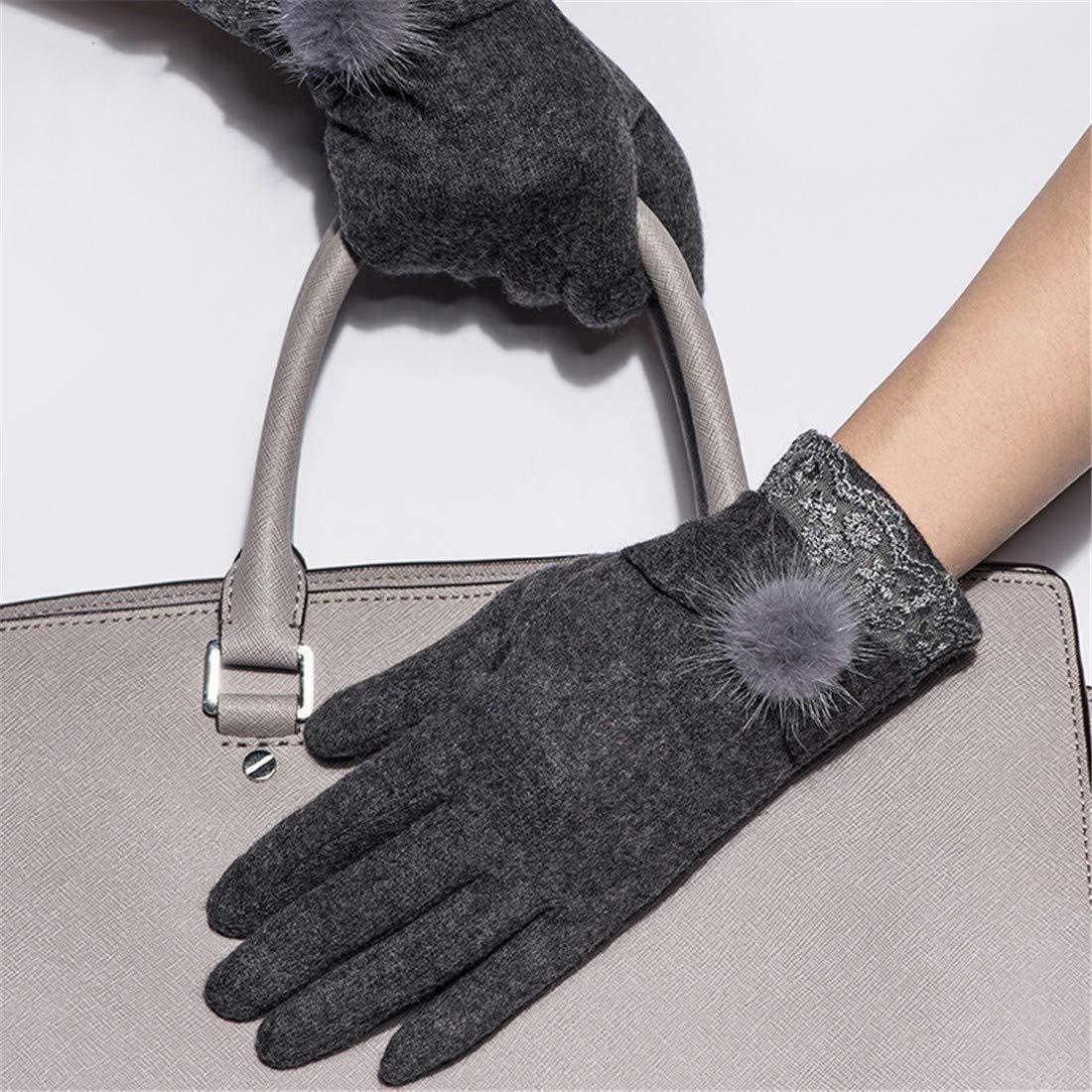 LANTA Home Winter warme Handschuhe Damen kalte kalte kalte Handschuhe schwarz (Farbe   Navy) B07N64T6G2 Handschuhe Elegant und feierlich c30830