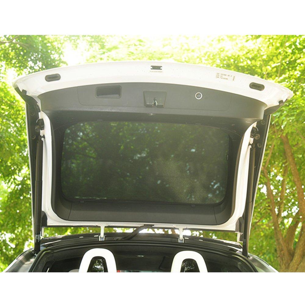 Dachfenster Blind Schattierung Netto Vorhang f/ür Model X Sonnenschirme Teslaowner Falcon Schiebedach