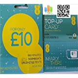 EE 10 Pounds Data Pack Pay As You Go SIM With Buy One Get One Free Offer.