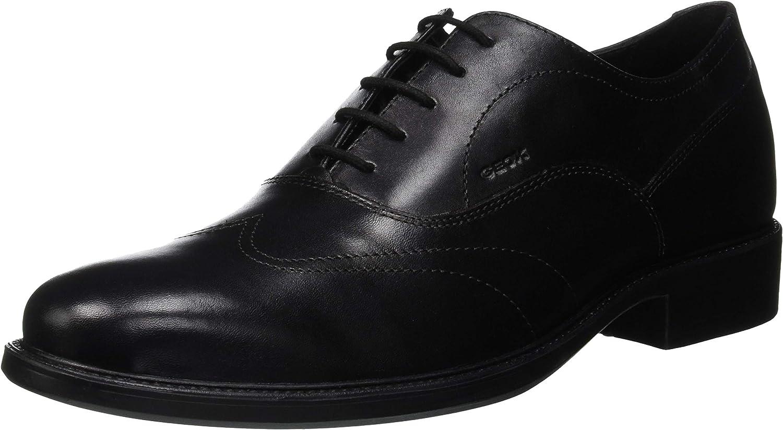 Geox Uomo Carnaby A, Zapatos de Cordones Oxford para Hombre