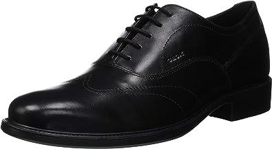 TALLA 44 EU. Geox Uomo Carnaby A, Zapatos de Cordones Oxford para Hombre