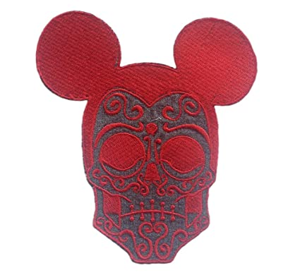 Amazon Skull Mickey Mouse Embroidery Pattern Sewing Or Iron On
