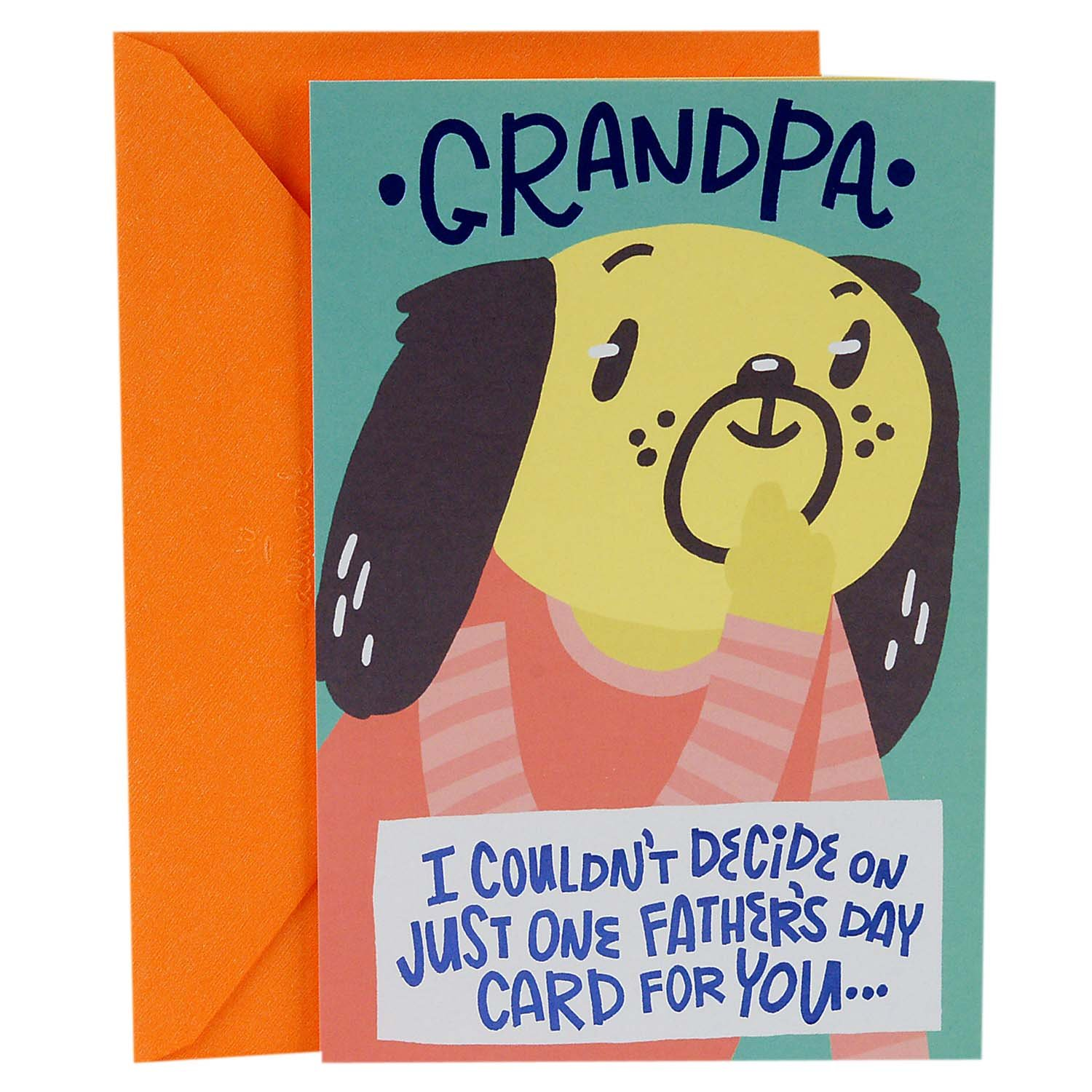 Amazon Hallmark Fathers Day Greeting Card For Grandpa From