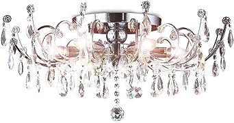 Kristall Deckenleuchte Kronleuchter Deckenlampe Kristallkronleuchter Wohnzimmer