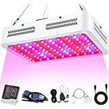 LED Grow Lights, 1000W Full Spectrum Powerful Grow Light with Bloom and Veg Switches, Daisy Chain Available, Plant Lights for