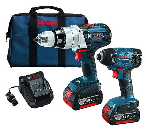 Amazon.com: Bosch clpk221 – 181 18-volt 2-tool Combo Kit de ...