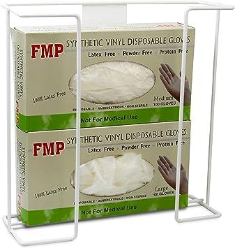 FMP Brands Single Wall Mount Glove Tissue Dispenser Wire Rack Disposable Glo...