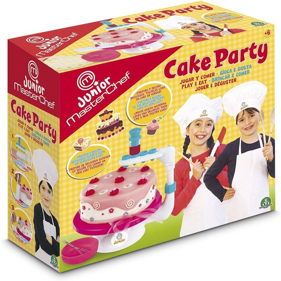 Master Chef Junior - Cake Party (Giochi Preziosi 32050): Amazon.es: Juguetes y juegos