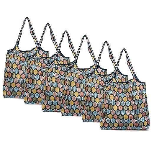 Bolsas de compras plegables reutilizables de 3 paquetes ...