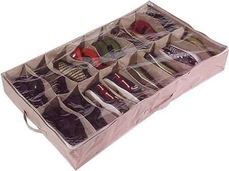 Brilliant Feet Caja organizadora de Zapatos para Debajo de la Cama ...
