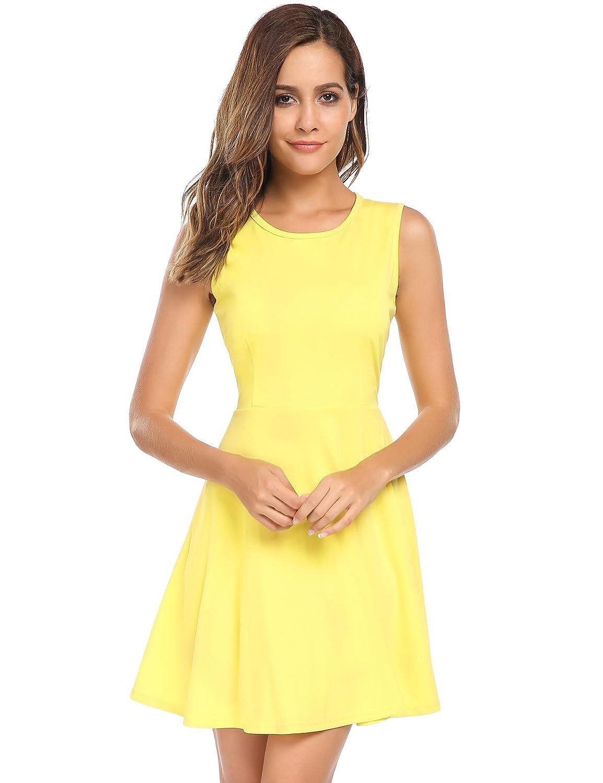 kleid gelb schwarz