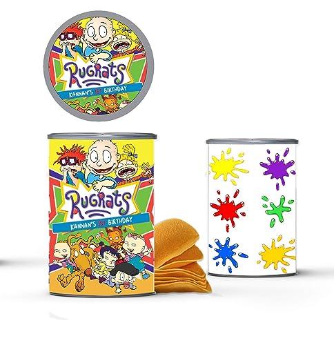 Amazon Com 12 Personalized Rugrats Pringles Label Rugrats Party