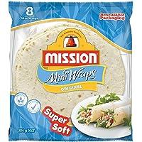 "Mission Foods 8"" Super Soft Original Mini 8 Wraps,384.0 g"