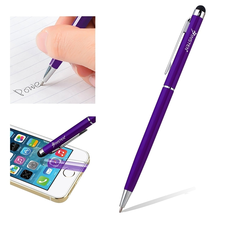 Everydaysource 2イン1 Everydaysource Capacitive Touch Screen Stylusボールペンペン Touch 1876858 1876858 パープル B00KYDZSXM, JEMA(ギフトと模型材料)shop:c1268bd6 --- sharoshka.org
