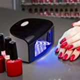 LED Nail Dryer Lamp for Quickly Dry - Belmint Professional 9W Manicure Gel Polish Nail Curing Lamps with 30s, 60s, 90s Time Settings