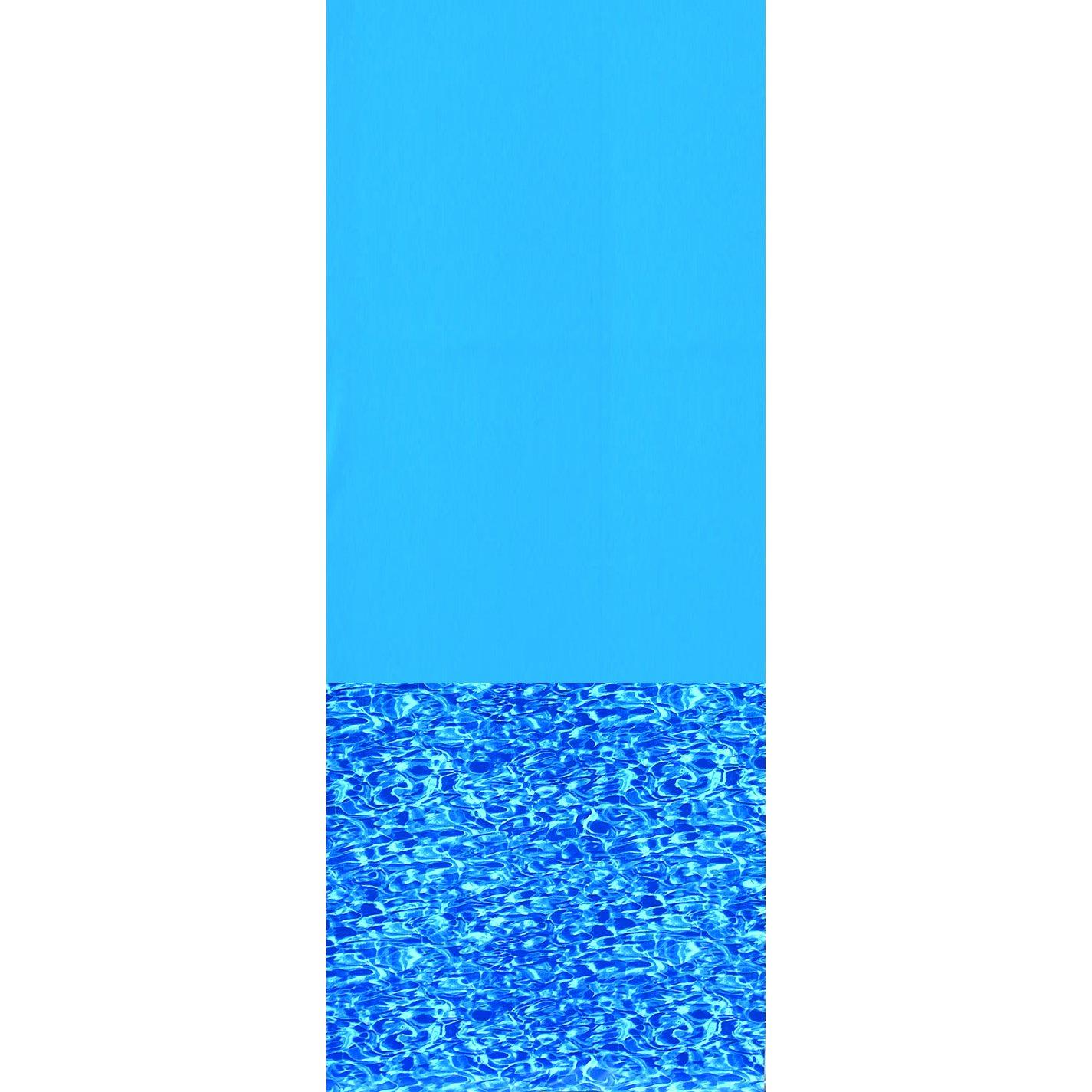 Swimline 24-Feet Round Swirl Bottom Overlap Liner Standard Gauge by Swimline