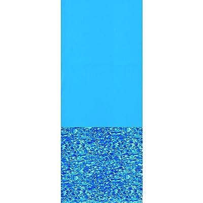 Swimline 24-Feet Round Swirl Bottom Overlap Liner Standard Gauge