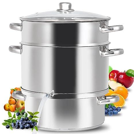 Amazon.com: CHEFJOY 11 Quart Juicer Vaporizador de Frutas ...