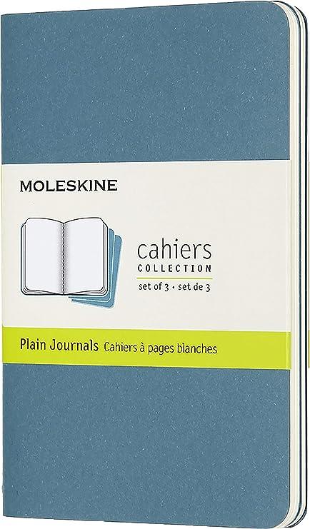 Moleskine Juego de 3 Cuadernos Cahier Journals De Bolsillo, 80 ...