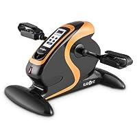 Klarfit Cycloony MiniBike - Mini vélo d'appartement pour bras et jambes - Appareil d'entraînement 12 vitesses avec ordinateur de bord