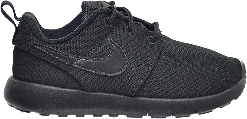 New Nike Roshe One Triple Black Toddler Shoes without box 749430-031
