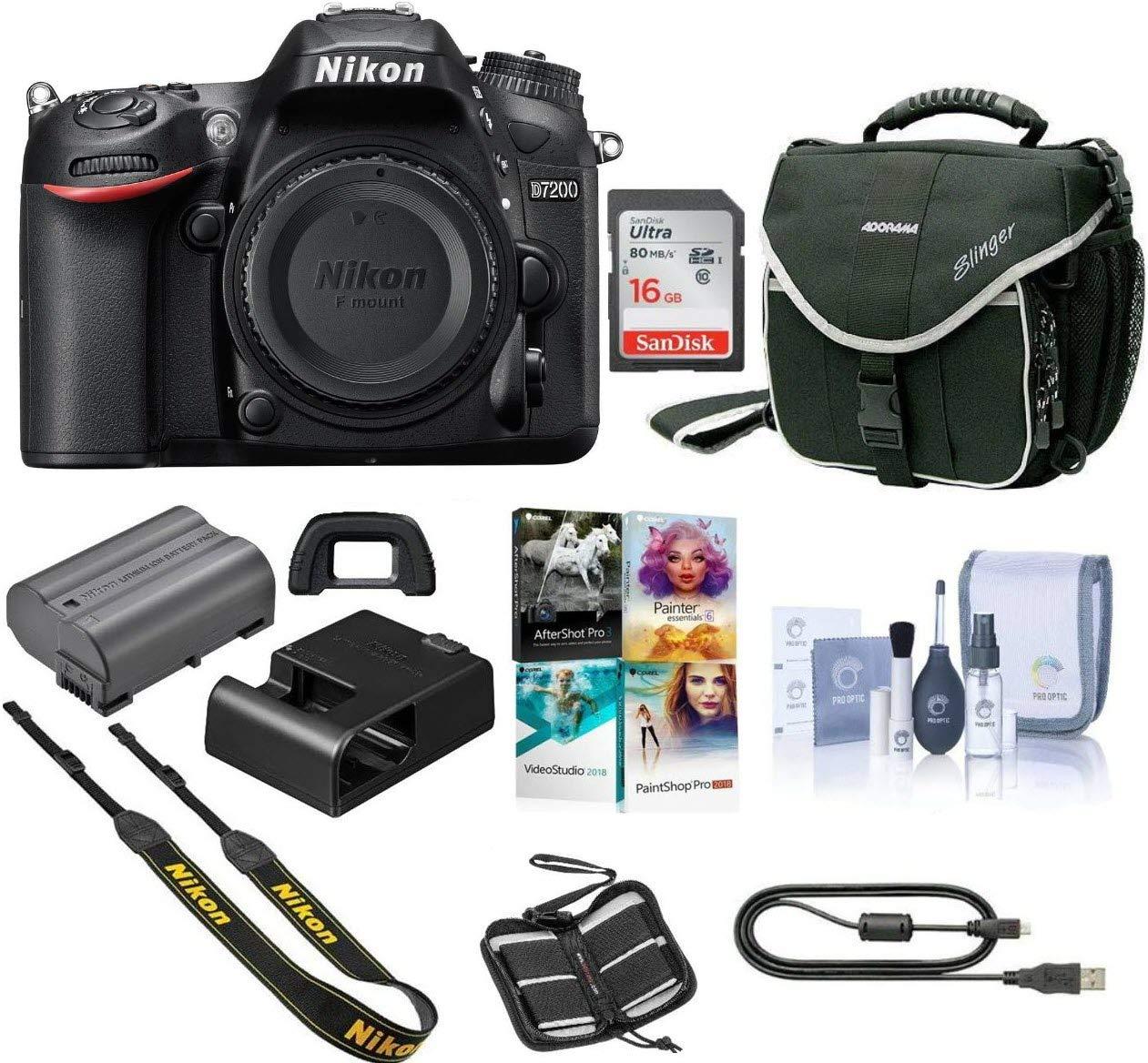 Nikon D7200 DSLR Camera Body O