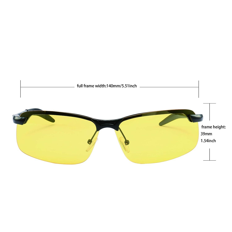 Amazon.com: Hombres High-End visión nocturna conducción ...