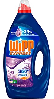 Wipp Express Detergente Líquido Concentrado Lavanda - 64 Lavados (3.2 L)