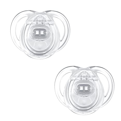 Tommee Tippee - 43335465 - Chupetes,0-6M, colores surtidos, 2 unidades