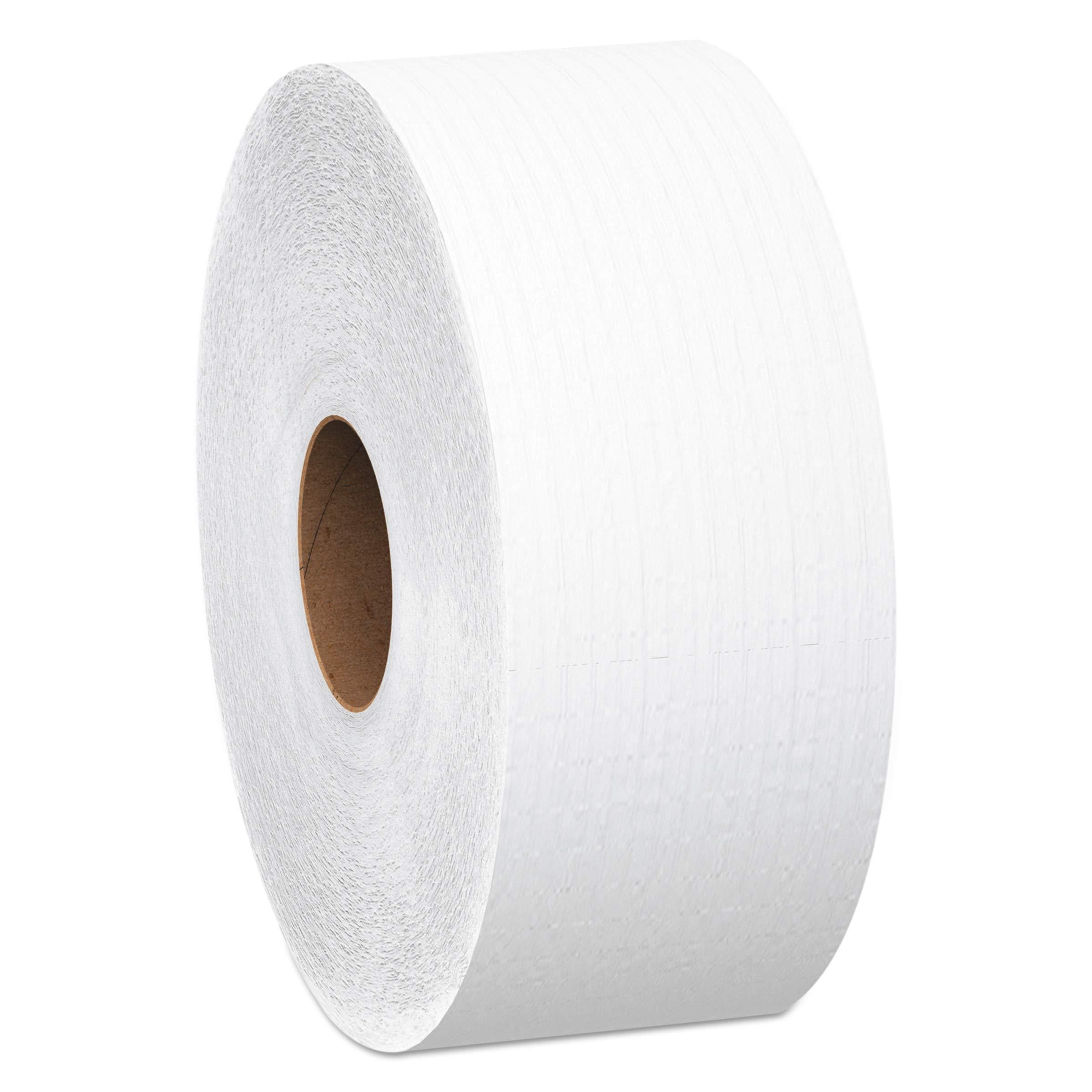 Scott 07202 JRT Jumbo Roll Bathroom Tissue, 1-Ply, 12'' dia, 4000ft (Case of 6) by Scott