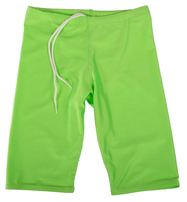 GaryM Kids Boys Solid Jammer Swim Suit by Size 7-14