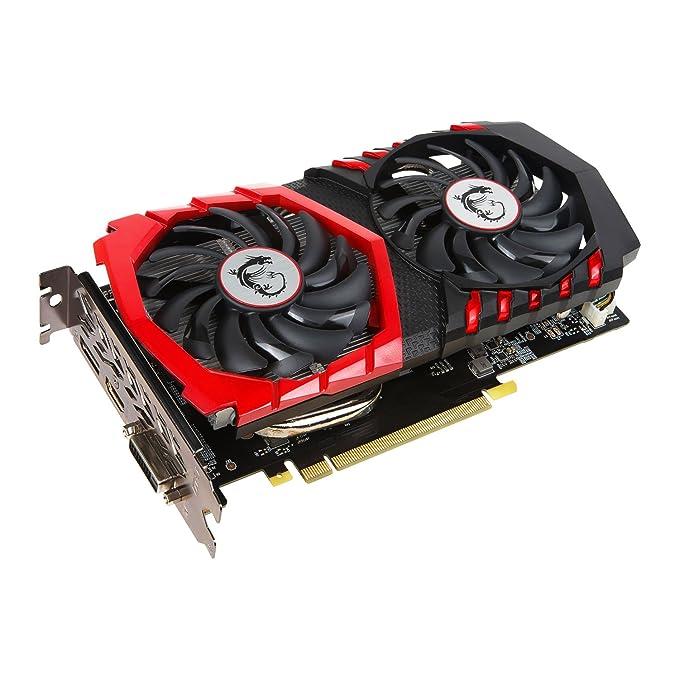 MSI GeForce GTX 1050 Gaming X 2G - Tarjeta gráfica (refrigeración Twin Frozr Vi, 2 GB Memoria GDDR5)