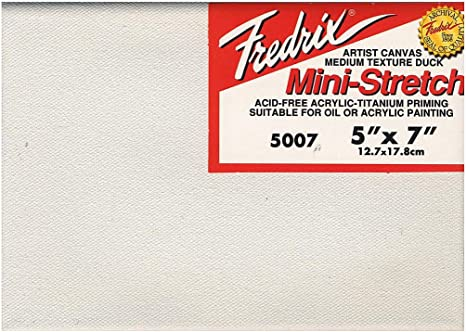 """16/"""" x 20/"""" Artist Series Red Label Fredrix Stretched Canvas 6 PACK"""
