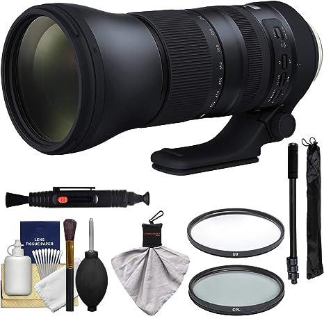 Tamron 150 – 600 mm f/5 – 6,3 G2 di VC USD Lente de Zoom con UV y ...