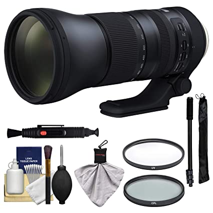 Tamron 150 - 600 mm f/5 - 6,3 G2 di VC USD Lente de Zoom con UV y ...