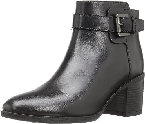 Geox Damen D GLYNNA B Kurzschaft Stiefel, Schwarz (BLACKC9999), 41 EU