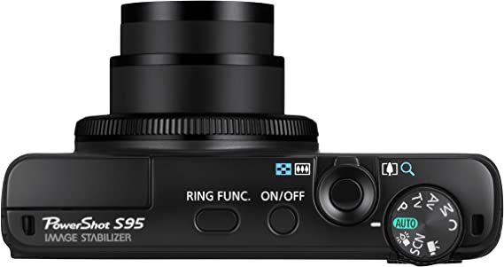Canon Powershot S95 - Cámara compacta de 10 MP (Pantalla de 3 ...