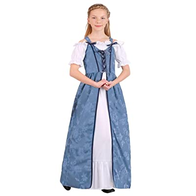 Girl's Renaissance Villager Costume: Clothing
