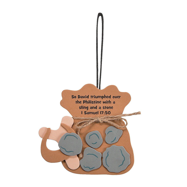 Amazon.com: David & Goliath Ornament Craft Kit: Health ...