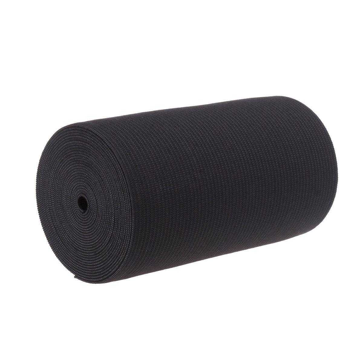 4-Inch Wide Black Heavy Knit Stretch ELASTIC 3 Yards by Prolastic 4337000327