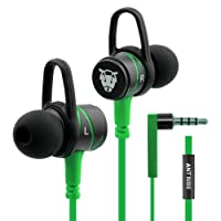 Ant Audio W56 Wired Metal in Ear Stereo Bass Headphone (Green)